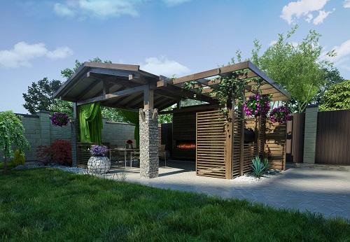 Pavilion Landscape Structure